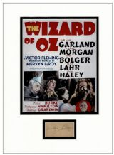 Mervyn LeRoy Autograph - The Wizard of Oz